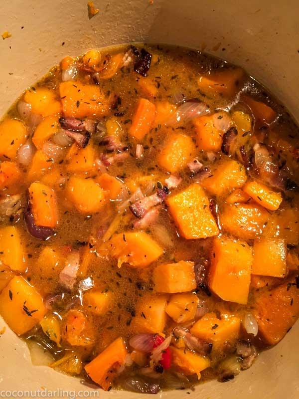 bacon butternut squash soup