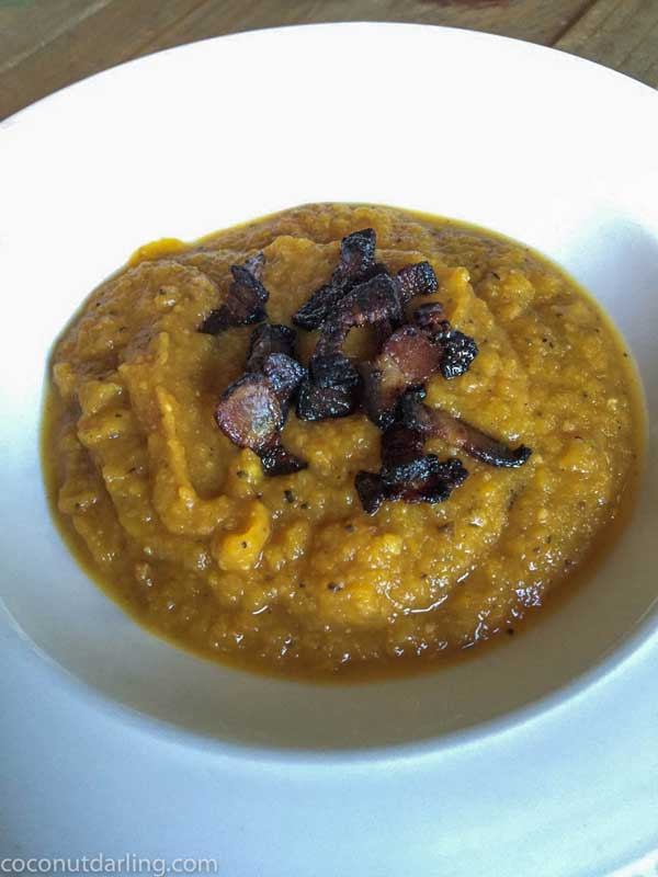 bacon butternut squash soup